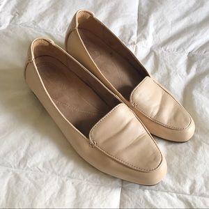 CLARKS Artisan Keesha Luca Nude Leather Loafers 8